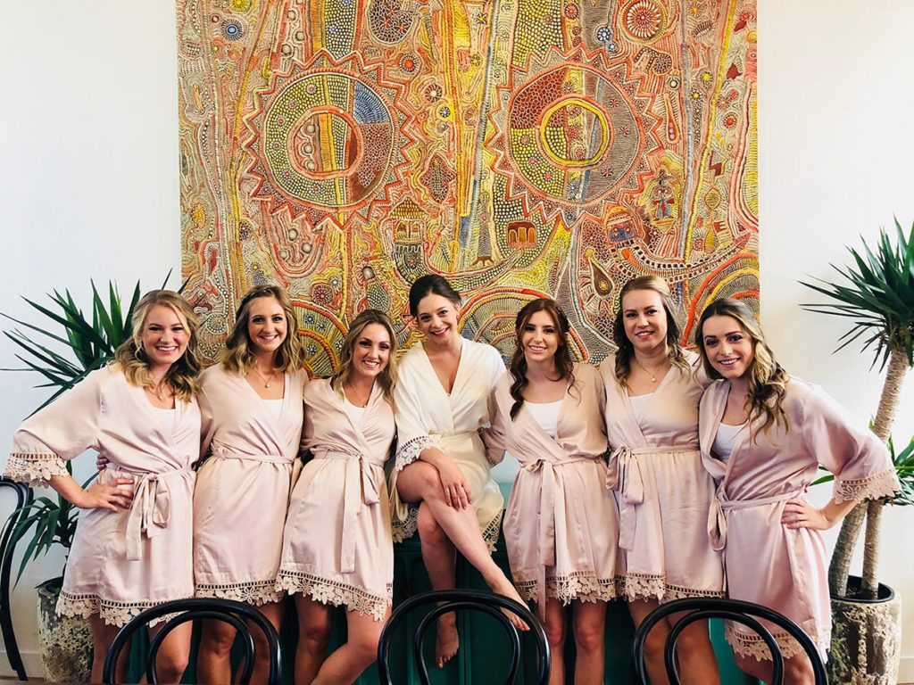 chicago_wedding_pink_ladies_group