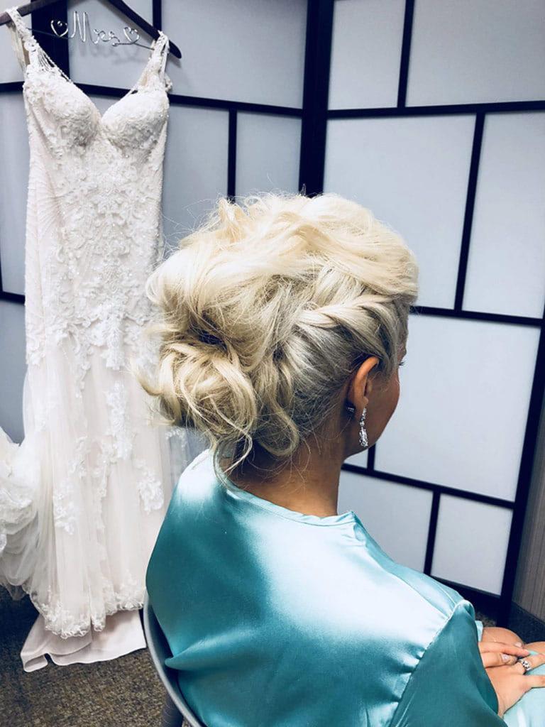 bridal hair style updo